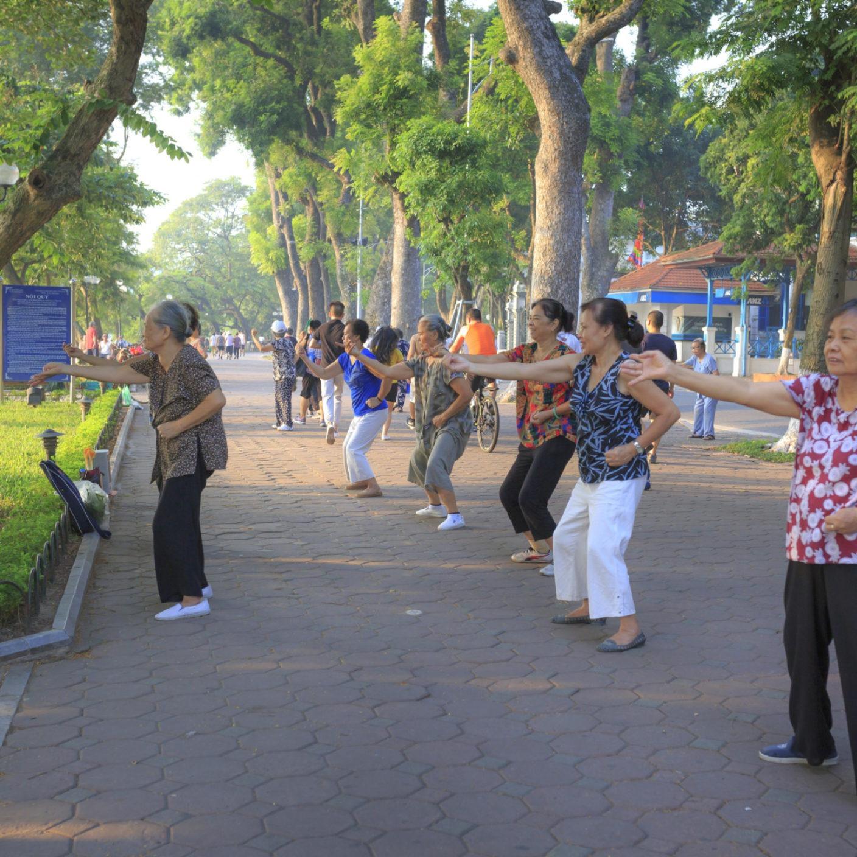 Hanoi Morning Exercise