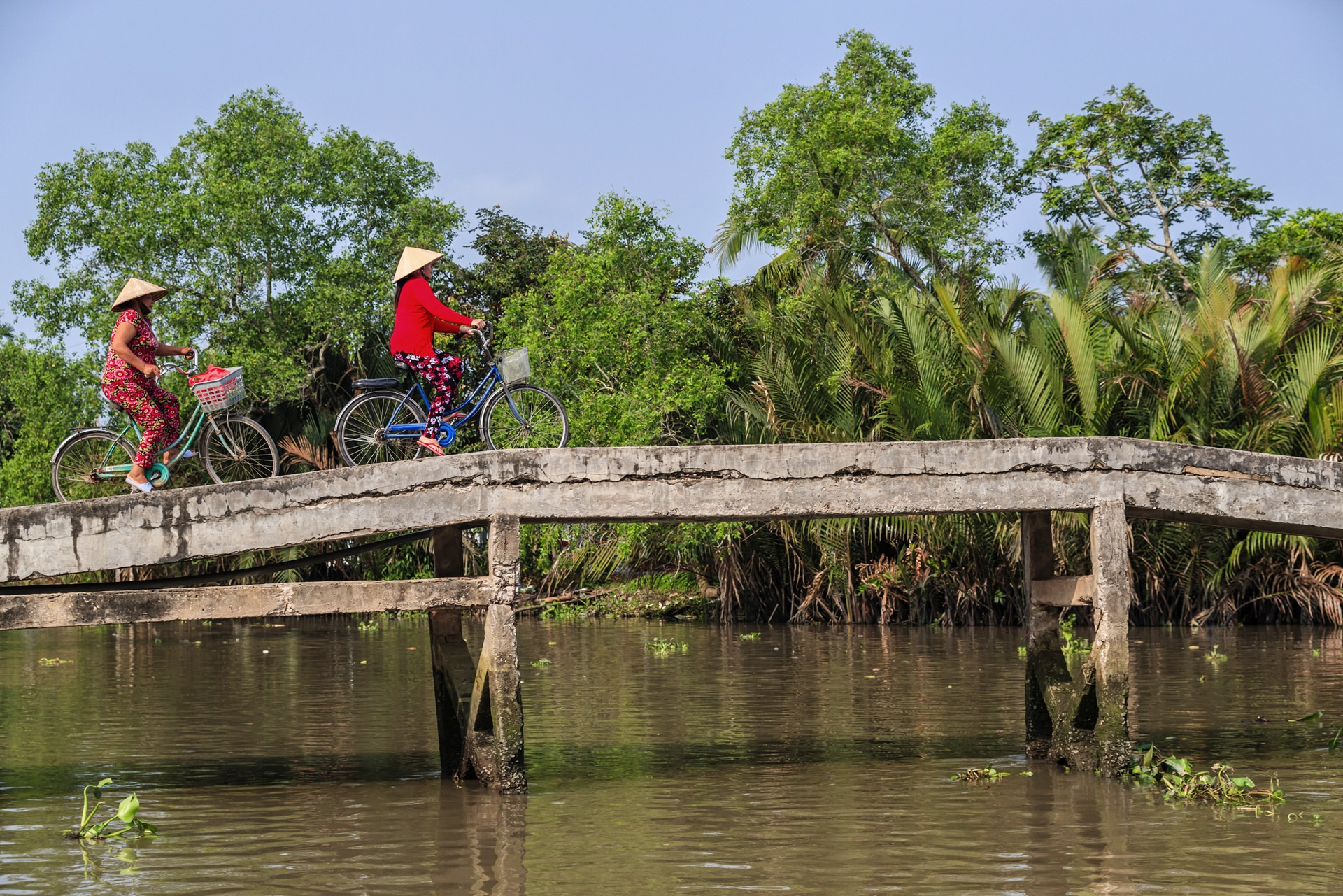 Mekong experience cycling