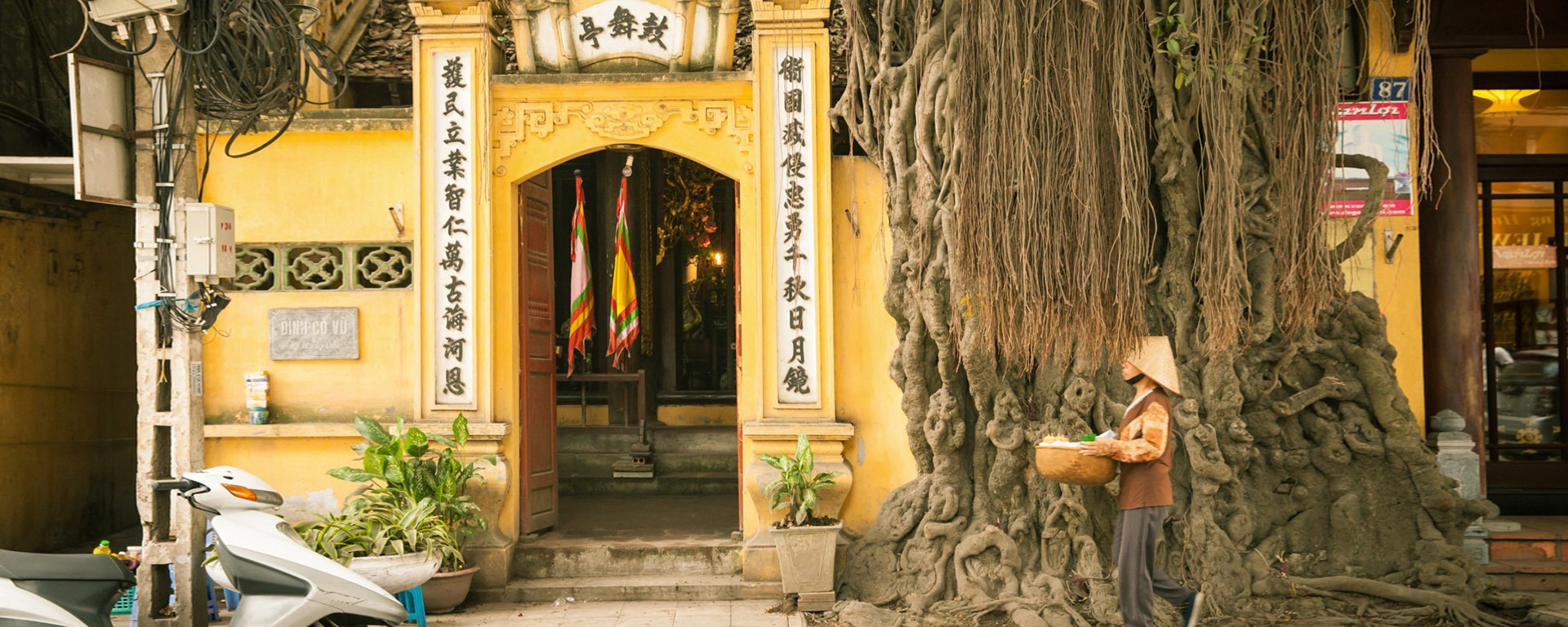 Hanoi attraction banner
